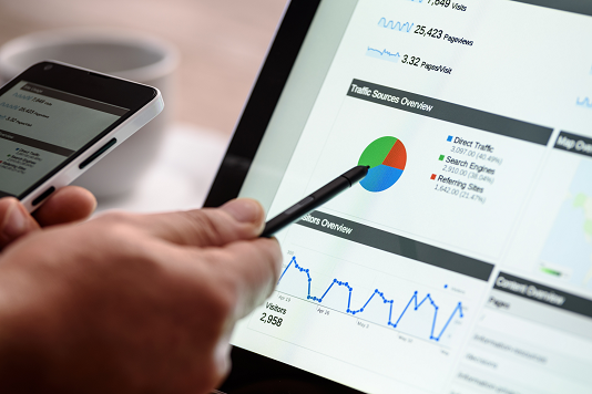 Analysing SEO traffic as a certified HubSpot partner
